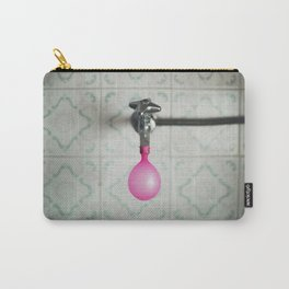 Tap with a pink balloon Carry-All Pouch