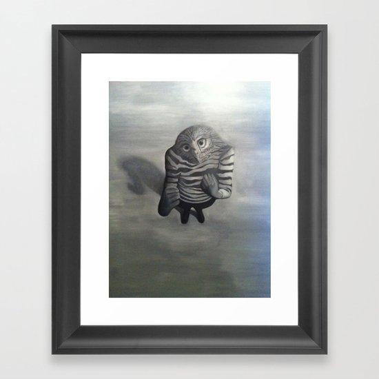 Fighter Framed Art Print