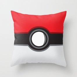 Pokeball GO Throw Pillow