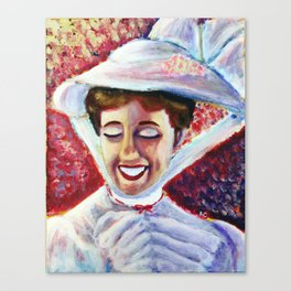 It's Mary Poppins! Canvas Print