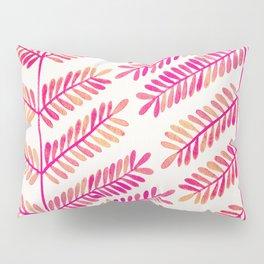 Leaflets – Pink Ombré Palette Pillow Sham
