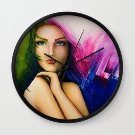 Rainbow Mind Wall Clock