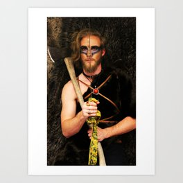 Listen to Slayer Art Print