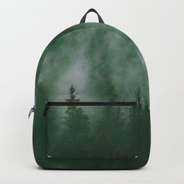 Clear life's mist to see beauty. Green Backpack