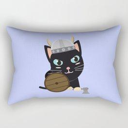 Viking cat   Rectangular Pillow