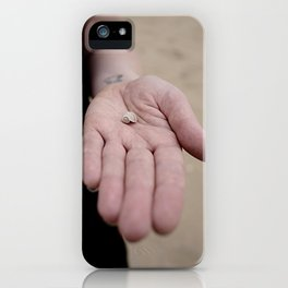 Little Hands, Tiny Shell iPhone Case