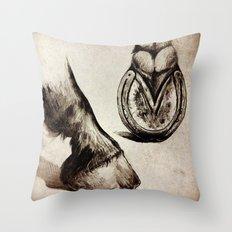 Horse Feet Throw Pillow