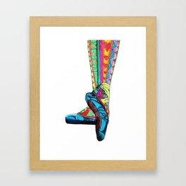 Happy Ballet II Framed Art Print
