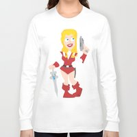 princess Long Sleeve T-shirts featuring princess by neicosta