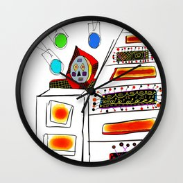 just some friends of mine Wall Clock
