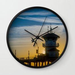 Seagull and Zero Wall Clock