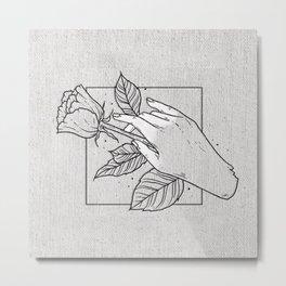 Deathgrip Metal Print