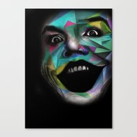 joker Canvas Prints featuring Joker by Urban Artist