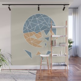DISASTER (abstract geometric) Wall Mural