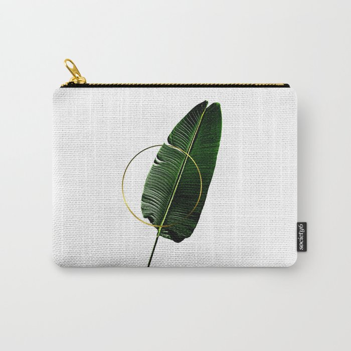 Minimalist Nature II. Graphic Design. Hybrydus. Carry-All Pouch