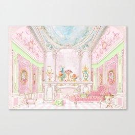 Paris Pink Patisserie Canvas Print