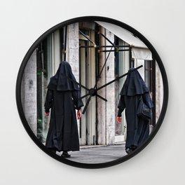 Roma, suore | Rome, nuns Wall Clock
