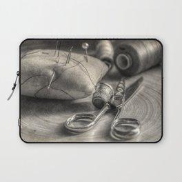 the seamstress Laptop Sleeve