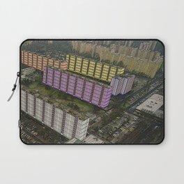 Colorful Block Buildings - Bekasmegyer - Budapest Laptop Sleeve
