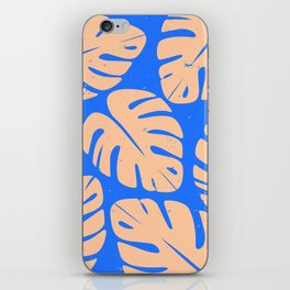 Monstera Leaf Print 5 iPhone Skin