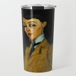 "Amedeo Modigliani ""L'Amazone"" Travel Mug"