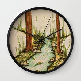 The Stream Wall Clock
