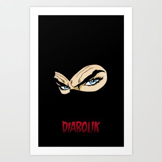 DIABOLIK for IPhone Art Print