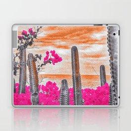 Cactus Sunset Laptop & iPad Skin