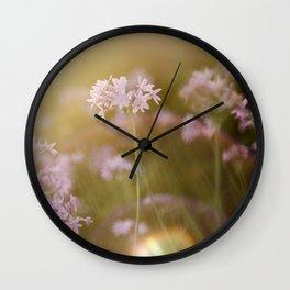 Reassurance 2 (Magic Garden series) Wall Clock