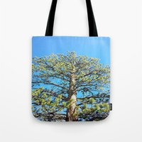 giants Tote Bags featuring Giants by Nicole Roberts