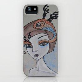 fish eye iPhone Case