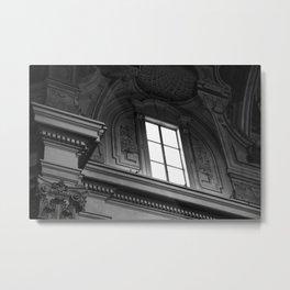 Window Detail Metal Print