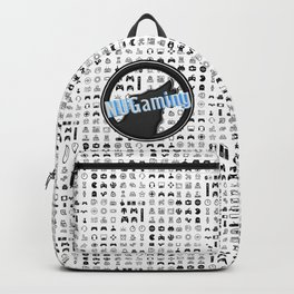 NUGaming Icon Checker Print Backpack