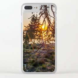 Sunset At Summer In Finland Clear iPhone Case