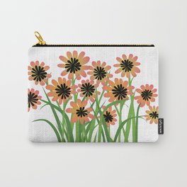 Brightly Colored Flowers Carry-All Pouch