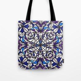 Blue purple dreams Tote Bag
