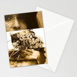in memoriam in sepia Stationery Cards