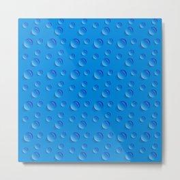 Water drop pattern  #society6 #decor #buyart #artprint Metal Print