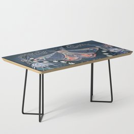 Luna Moth Coffee Table