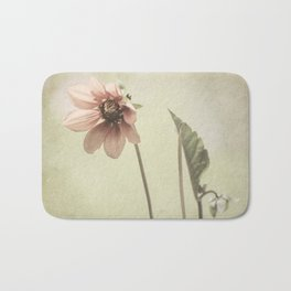 Mint Dahlia Bath Mat