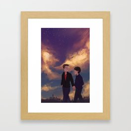 for thomas Framed Art Print