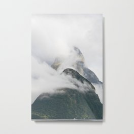 Misty Milford Mountain II Metal Print