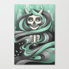 Lady Hades Canvas Print