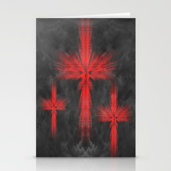 3 Crosses Stationery Cards