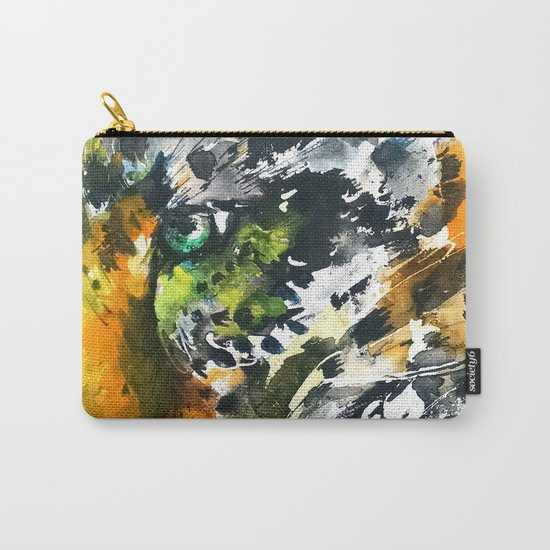 Eye of the Leopard Carry-All Pouch