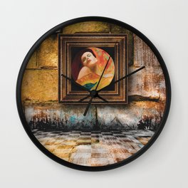 in madona Wall Clock