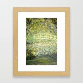 """""""Blithe Crossing"""" Framed Art Print"""