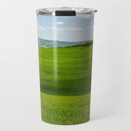Tuscany Landscape with Hills Travel Mug