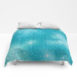 Winter Nebula Comforters