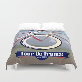 Tour De France Duvet Cover